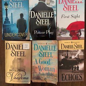 Danielle Steel bundle of 6 books
